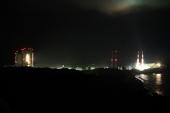 20:06、ロケットの丘展望所から